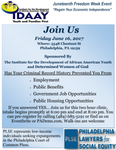 Juneteenth Liberation Celebration @ The Institute for the Development of African American Youth | Philadelphia | Pennsylvania | United States